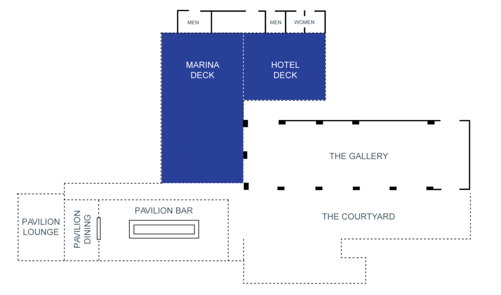 Marina & Hotel Deck