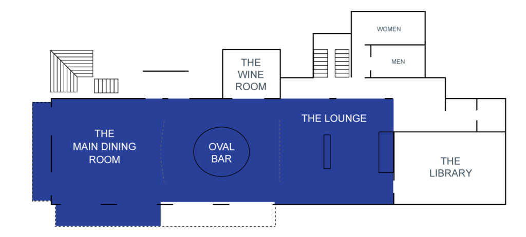 THE GRILL, OVAL BAR & LOUNGE,